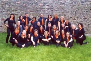 Sound Unlimited mit Chordirektor FDB Alexander Franz im Jahre 2010