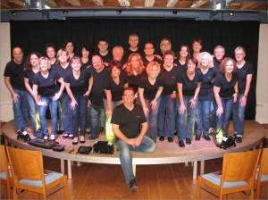 Sound Unlimited, vor dem Konzert Uffschnitt & Xsang am 14.10.2012 im Schlösschen Michelbach.